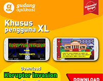 Mobile web banner ads XL AXIATA