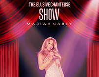 Mariah Carey - From simple photo to amazing tour poster