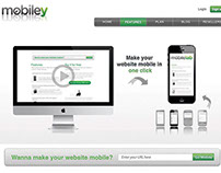 Mobiley / Webpage / Banner