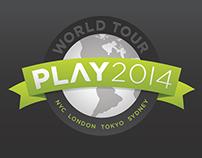 PLAY 2014 event creative