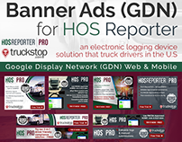 Google Display Network GDN) Banner Ad for Truck Drivers