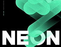 NEON | Electronic Music Festival Poster