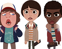 Stranger Things / fanart
