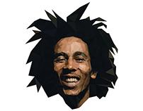 Bob Marley Lowpoly
