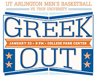 Greek Out - Basketball Game