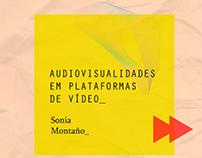 Site: Audiovisualidades em Plataformas de Vídeo