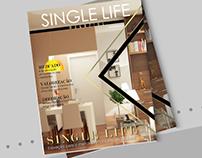 Projeto visual - revista Single Life