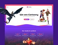 Website templates   cartoons