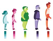 Transgender Webseries Intro & Character Designs