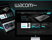 Wacom Store Redesign