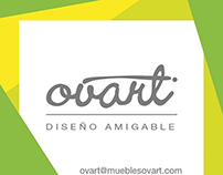 Diseño e impresión de stickers Ovart