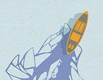 ICEBREAKER - Flyer Cover Illustration