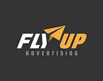 FLY UP logo design