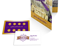 Candy Brochure & Business Card