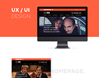 SANFIC - WEBSITE - UI · UX
