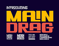 Main Drag Typeface