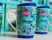 Bewleys Illustrated Coffee Mug