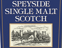 Speyside Scotch Whiskey Illustrated by Steven Noble