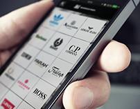 Menswear Index iOS/Android App