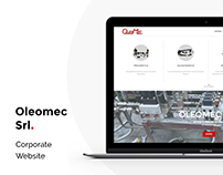 Oleomec Srl - Website