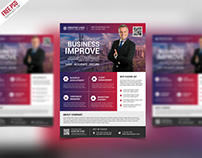 Free PSD : Multipurpose Creative Business Flyer Psd