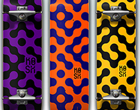 Graphic Print's Concept for skateboard deck's