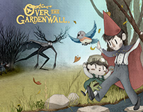 Over The Garden Wall: Fan Art Illustration