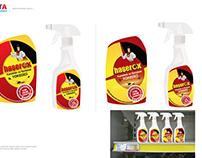 Haşerox Logo ve Etiket Tasarımı