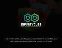 Infinity Cube Logo Design