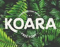 Koara / type family / free font