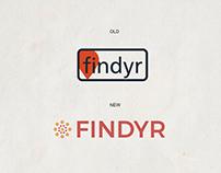 Findyr Re-Brand (Mobile + Dashboard)