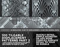100 Tileable Displacement Patterns/Alphas Part 2