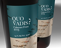 Label Design Vancouver / Quo Vadis? / Wine Labels