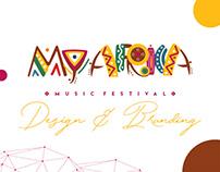 My Africa Music Festival Identity & Event Branding