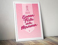 "Poster ""Happy Mother's Day"" - Italy"