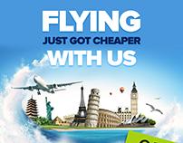 Flyer Design For World Air
