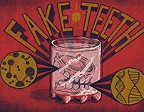 Fake Teeth-Extended- Streetart- Illustrations- Gifs