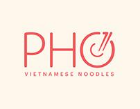 Pho 71 Vietnamese Noodles Rebrand