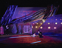 """Twelfth Night""  Projection Design"