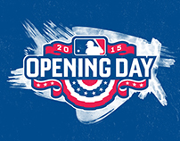 Major League Baseball - Opening Day 2015