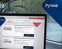 Ruteko - Landing / Temporary WebSite