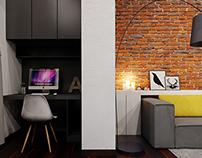 Living room - 2 version