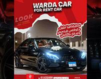 Warda car by ms media