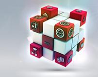 Casino 3d designs