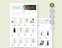 SKINCURE OFFICIAL MALL SITE DESIGN & PUBLISHING