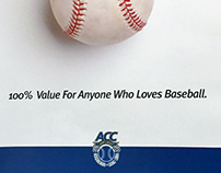 ACC Baseball Tournament Poster