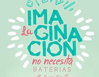 La imaginación no necesita baterias - Lápiz López