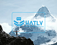 Hatly logo & web application