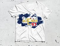t shirt graduate illustrator & Photoshop