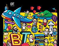 T-Shirt BTS 2017